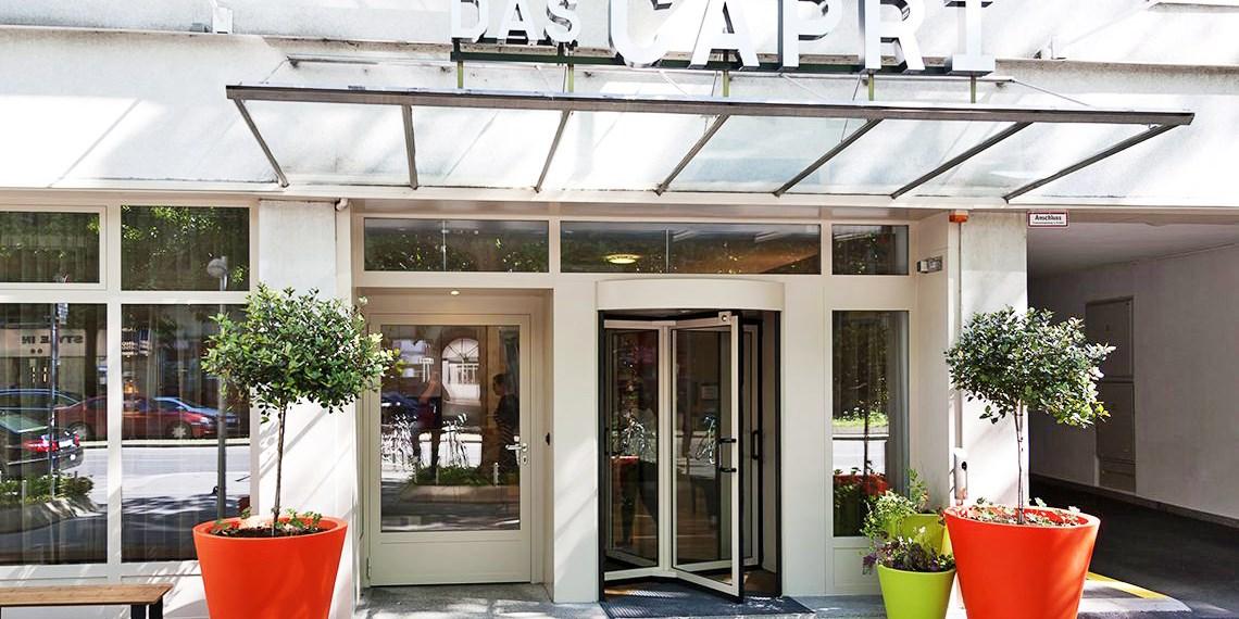 Das Capri. Ihr Wiener Hotel -- Vienna, Austria
