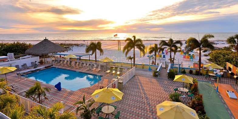 Plaza Beach Hotel Beachfront Resort St Pete Fl