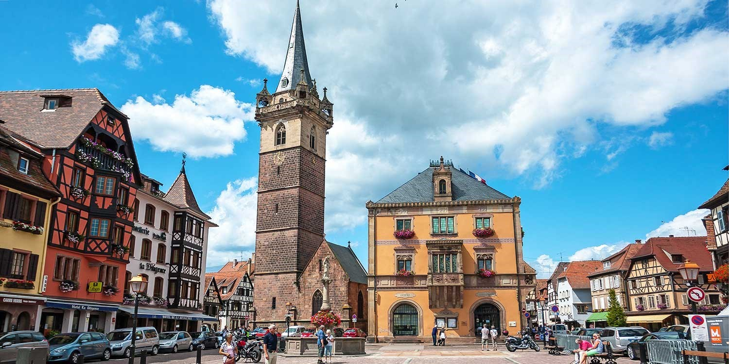 $86 – France: Stay on the Alsace Wine Route, 39% off -- Obernai, France