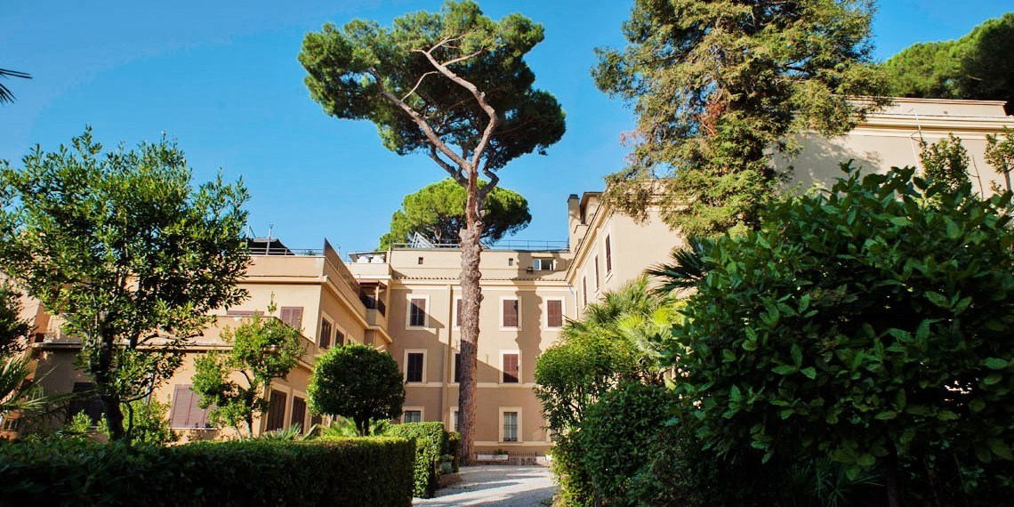 Checkin Villa Angelina -- Rom, Italien