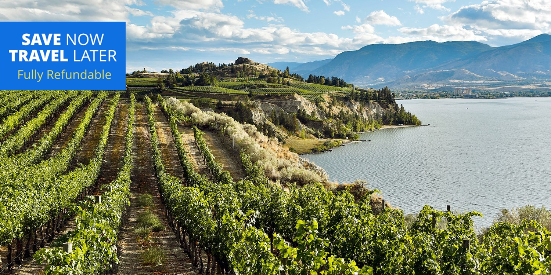 $111 – Okanagan Valley:Spring Stays w/Wine, Save 45% -- Oliver, Canada
