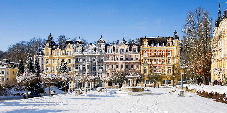Hotel Belvedere -- Marienbad, Tschechien