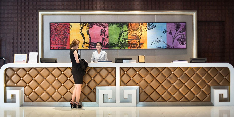 ¥555起 – 清新网红目的地新去处!曼谷时尚AETAS酒店【泼水节不涨价】含早餐 毗邻轻轨站 -- 曼谷, 泰国